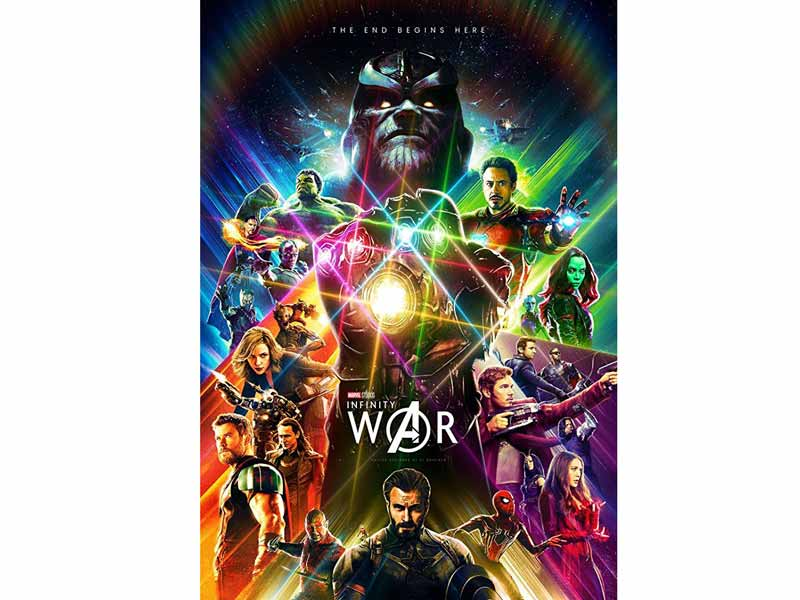 Avengers: Infinity War across middle east at Vox Cinemas in Lebanon