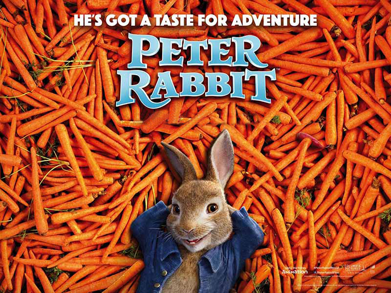 Watch Peter Rabbit Animated movies at Vox Cinemas in Lebanon