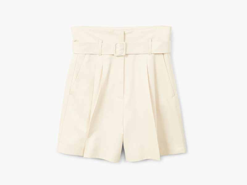 Buy Mango's Belted shorts in Middle East