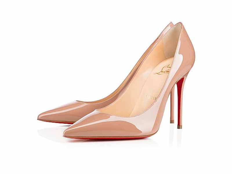 Shop Christian Louboutin's nude heels in Middle East