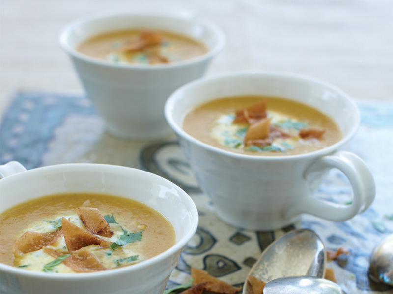 Creamy Lentil Soup from When Suzanne Cooks: Modern Flavours of Arabia